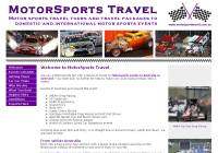 MotorSports              Travel for motor sports travel packages and motor sports tours to domestic and international motor sports events